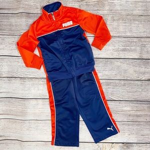 PUMA Toddler Track Outfit, 2T